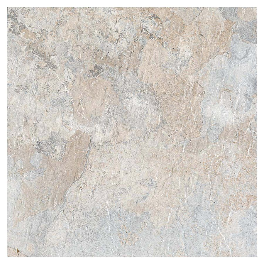 Style Selections 12-in X 12-in Beige Stone Finish Vinyl