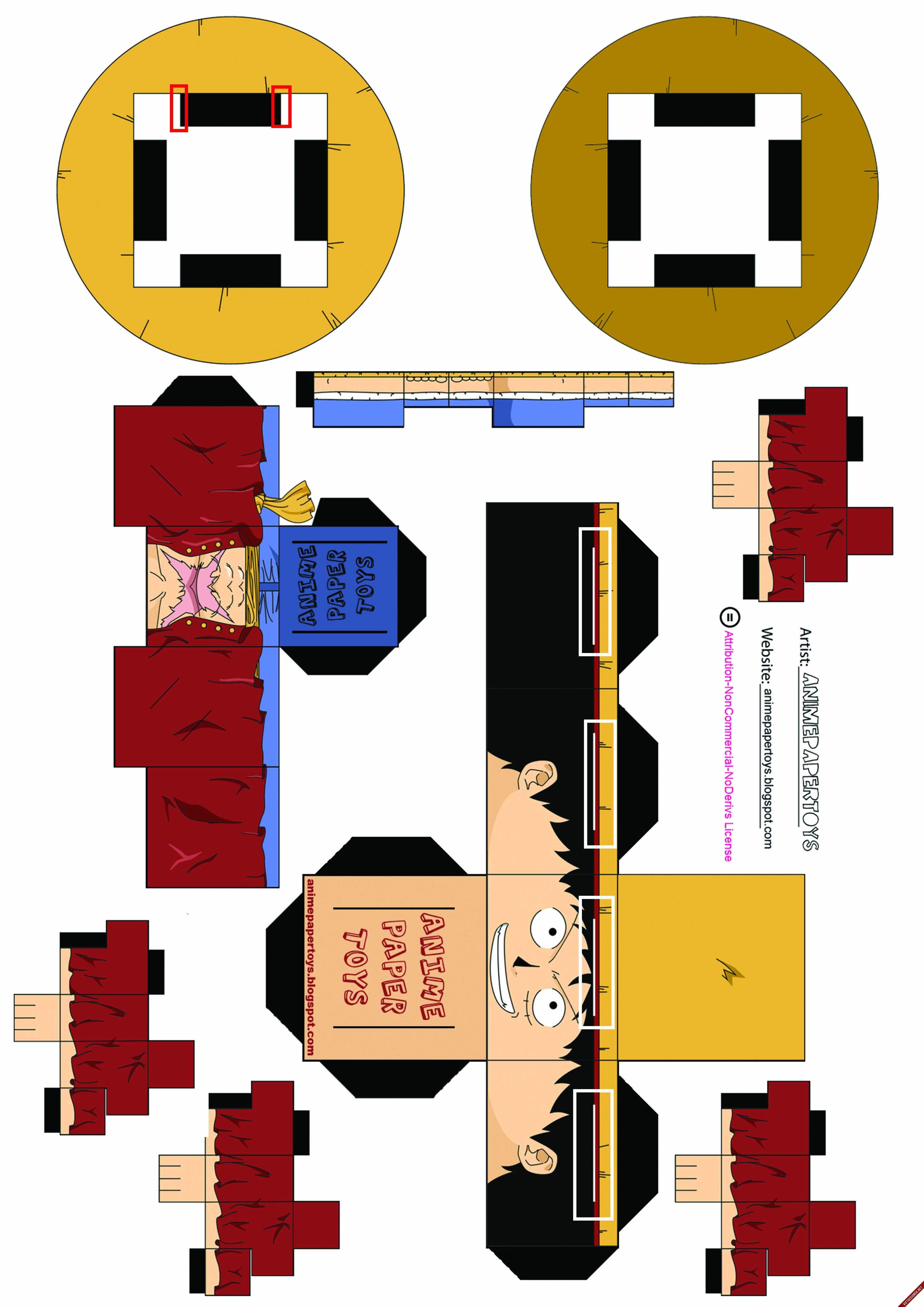 Papercraft Vector Ai Download Danbo Mo Hinh