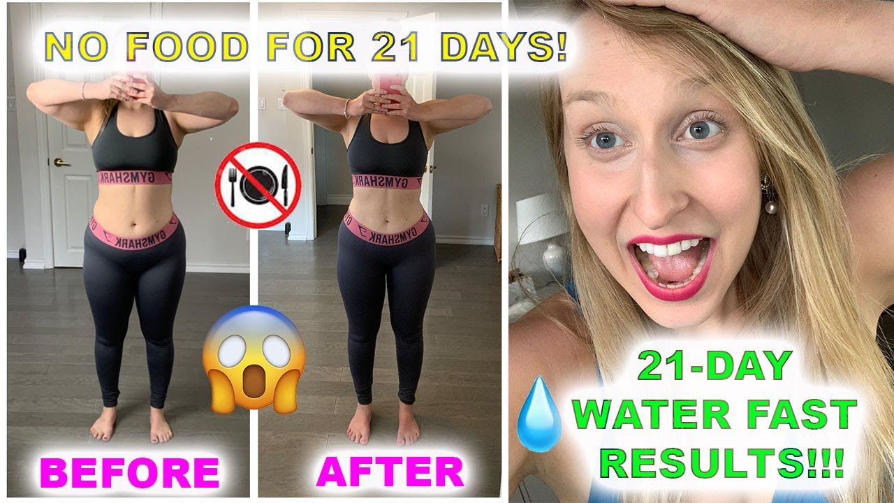 21 Day Water Fast Results Before After Lost 21 5lbs No Food In 2 Water Fast Results Water Fasting 10 Day Water Fast