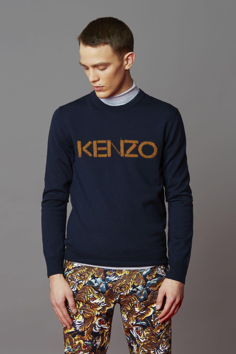 Kenzo KENZO LOGO SWEATER Kenzo Icons Men Kenzo E shop