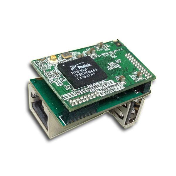 Tiny WiFi Module runs OpenWRT for multi-applications   USB,I2C,I2S