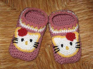 Suden silmukat: Hello Kitty tossut