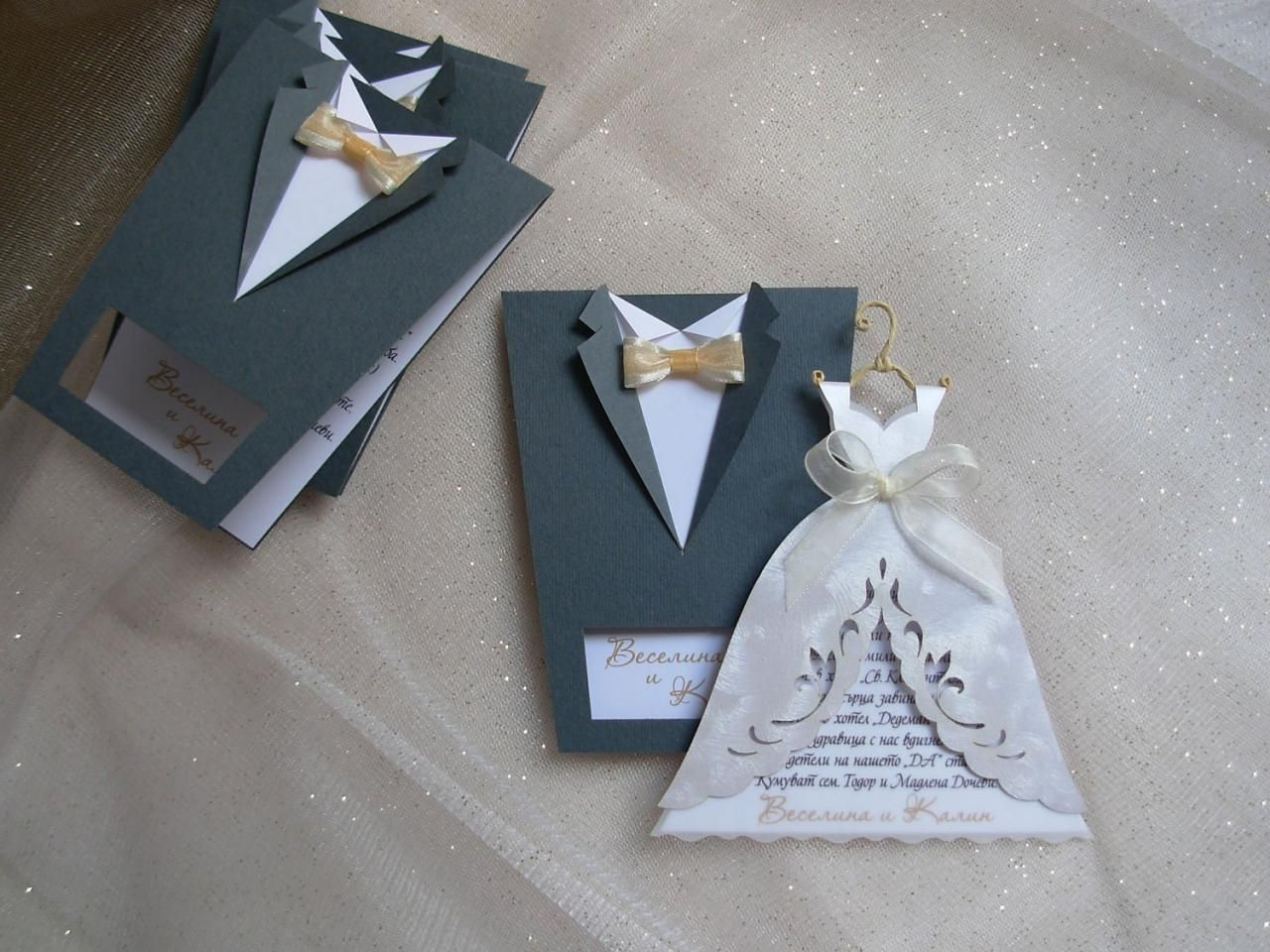 Bridal Wedding Invitations Bride And