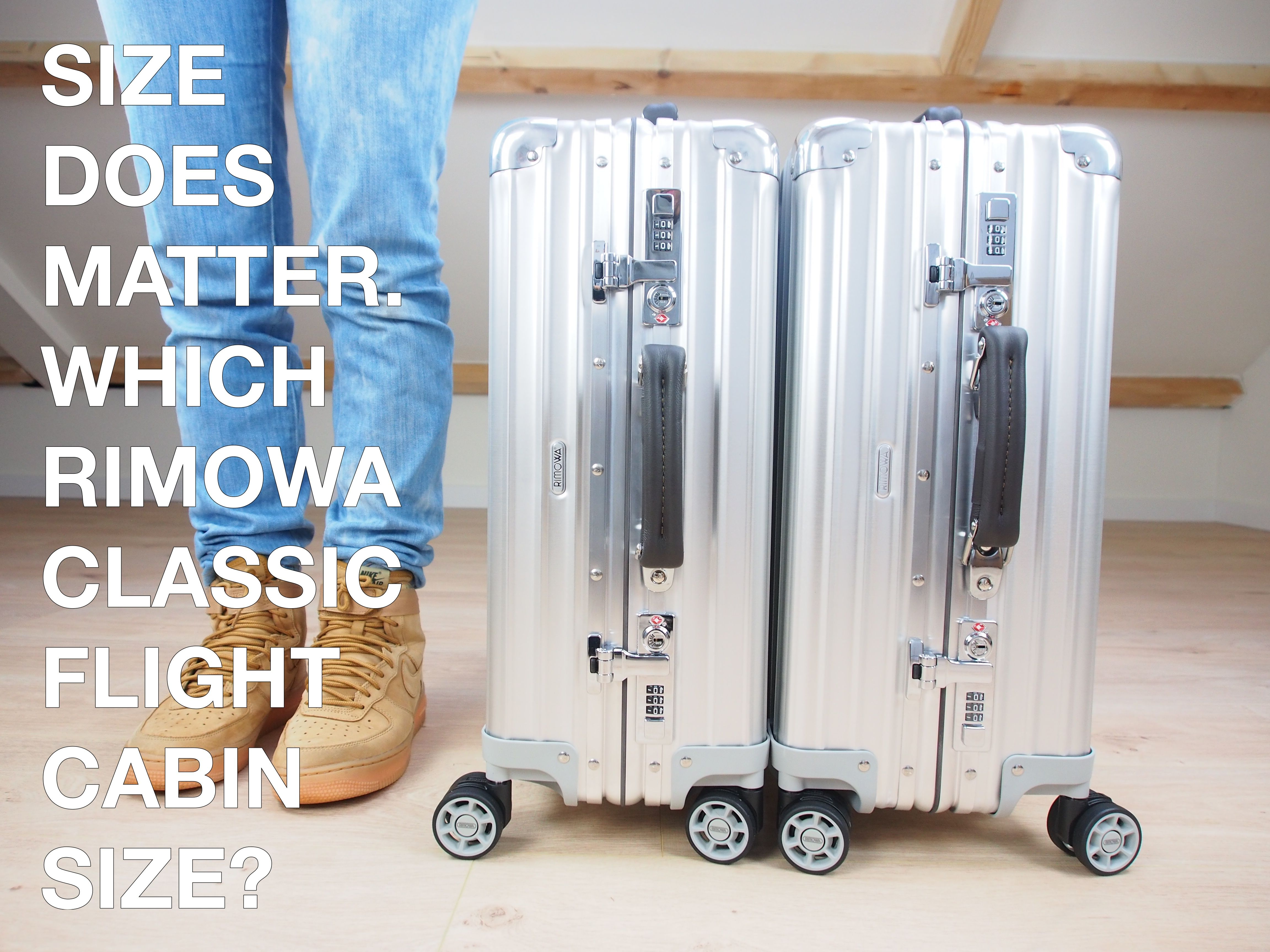 Size Does Matter Which Rimowa Classic Flight Cabin Size Rimowa Kids Luggage Carry On Size