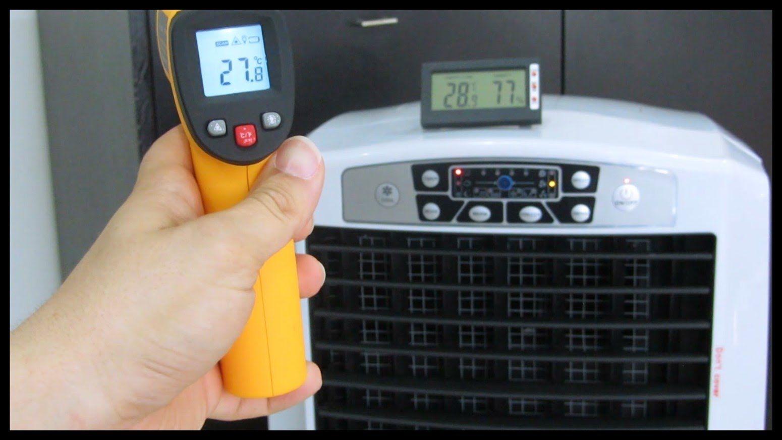 Climatizador evaporativo portátil VS aire acondicionado