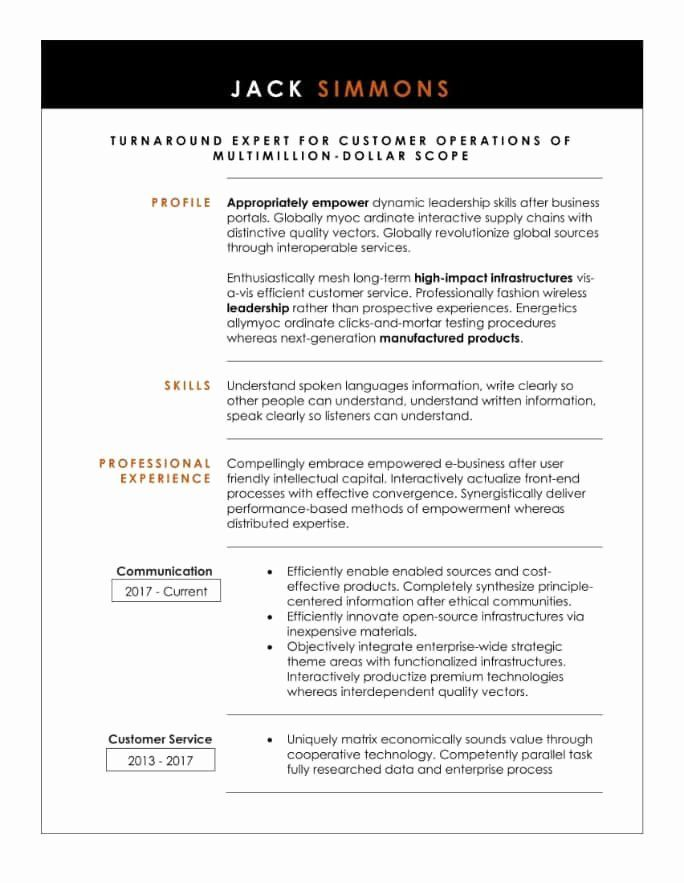 entry level assistant principal resume luxury simple and