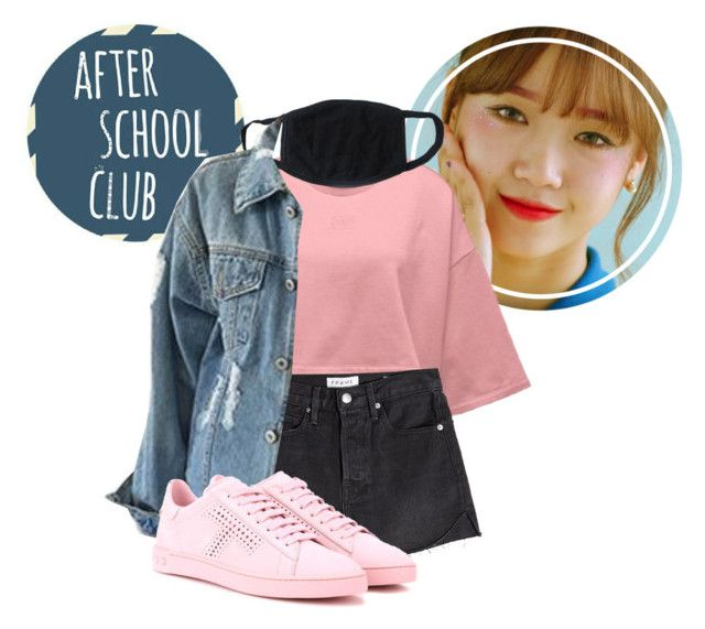 """""""Sunny // After School Club"""" by officialxsunny ❤ liked on Polyvore featuring art"""