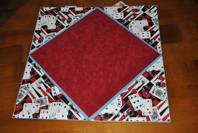 tapis de cartes ouvert saisons et