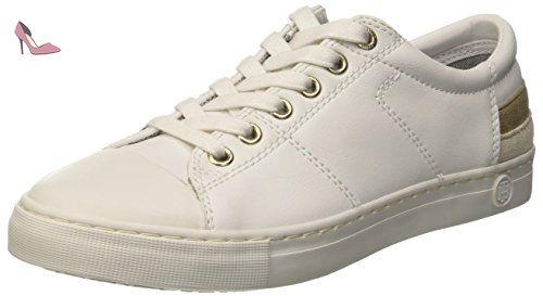 L2385oop 1a, Sneakers Basses Homme, Blanc (White 100), 43 EUTommy Hilfiger