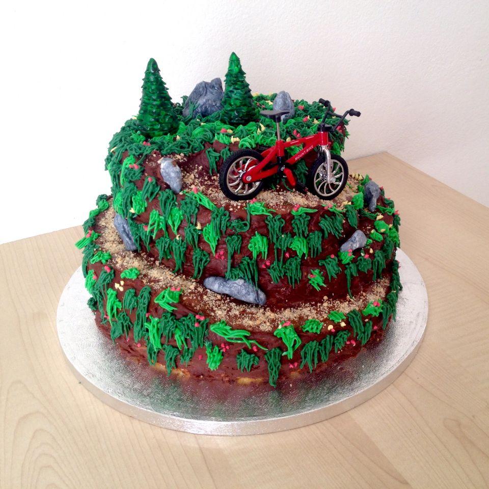 Types Of Bikes Mountain Bike Cake Bike Cakes Bicycle Cake