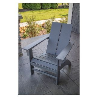 St Croix Contemporary Adirondack Chair Polywood Click Image