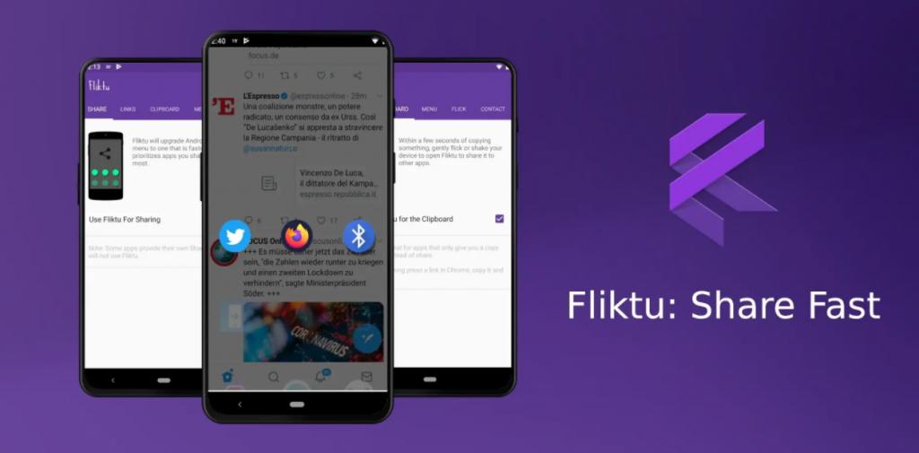 يعمل تطبيق Fliktu على تحسين قائمة مشاركة أندرويد الافتراضية Electronic Products Blog Phone
