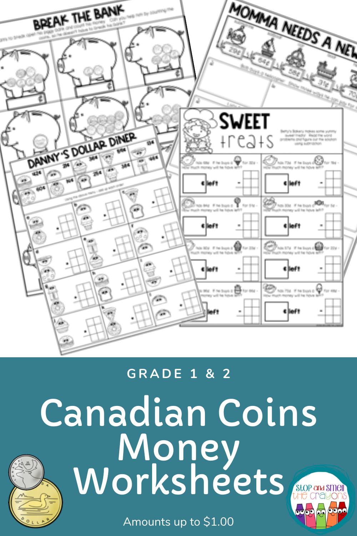 Predownload: Canadian Money Worksheets Money Worksheets Canadian Money Ontario Curriculum [ 1500 x 1000 Pixel ]