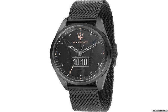 457abbd2c52a Oferta de Maserati   192 € Maserati Herrenuhr Traguardo Smartwatch  R8853112001