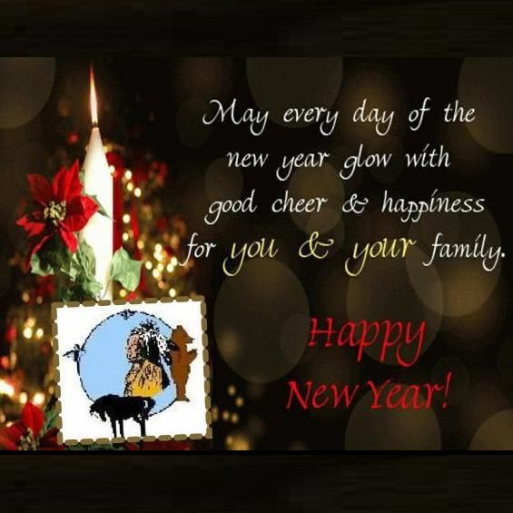 As The New Year Dawns May It Brings You All Success Love Joy And