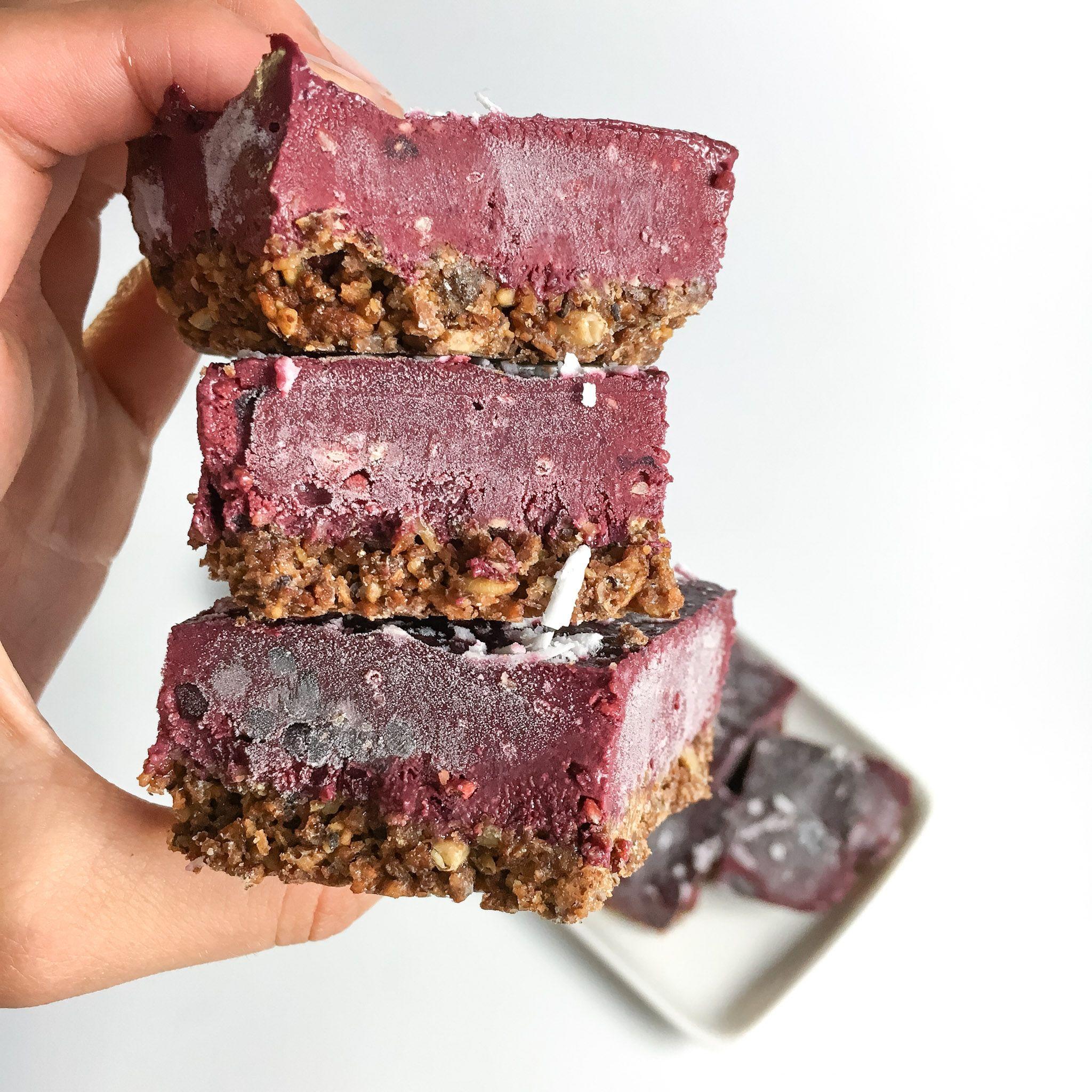 Frozen blackberry cobbler bars rachaels good eats how