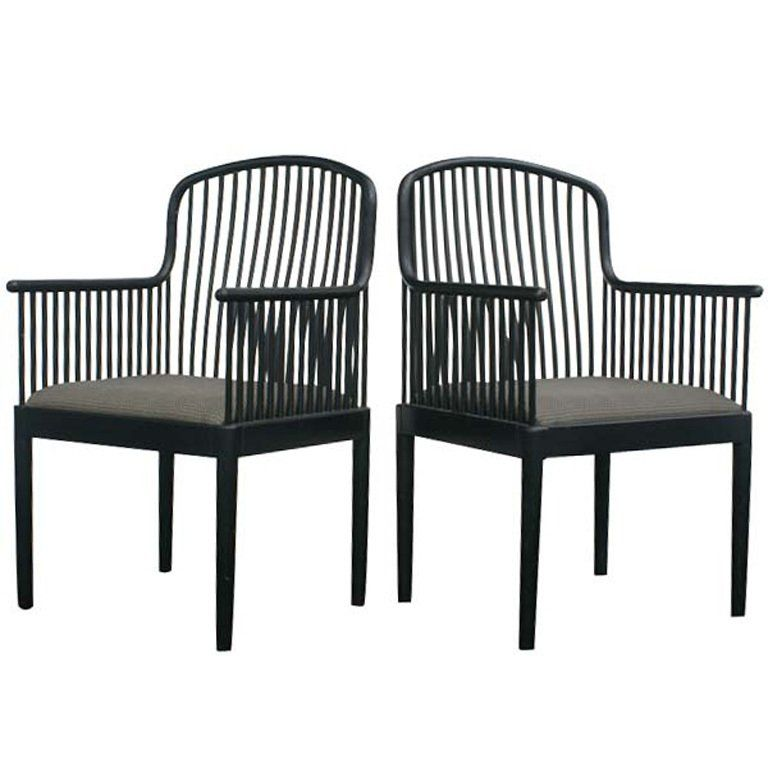 Pair Of Davis Allen For Knoll Exeter Chairs | Mid-century modern ...