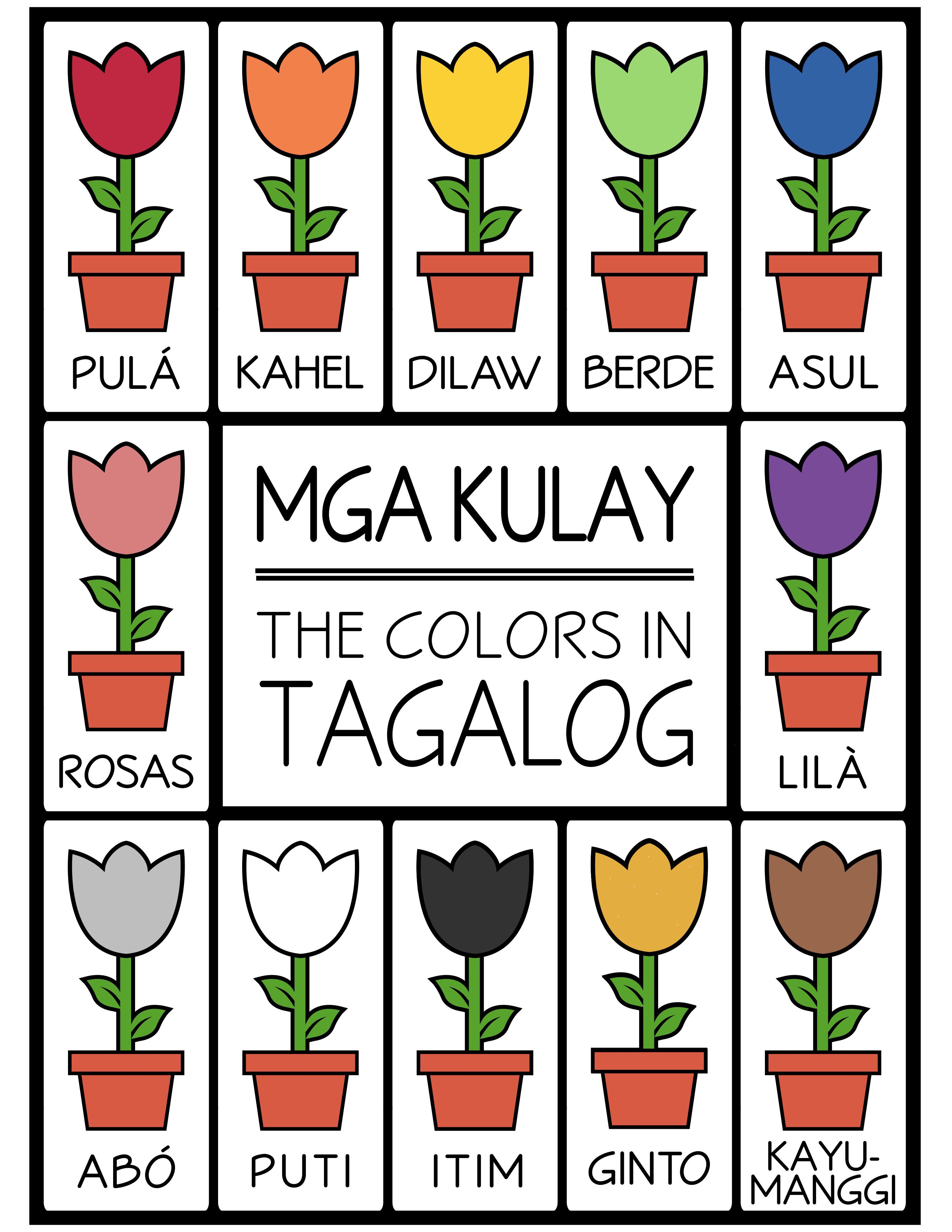 Tagalog Colors