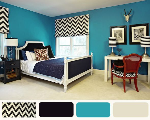 Pin By Penny Sloan On Turquoise Is Boss Turquoise Room Living Room Turquoise Turquoise Bedroom Walls