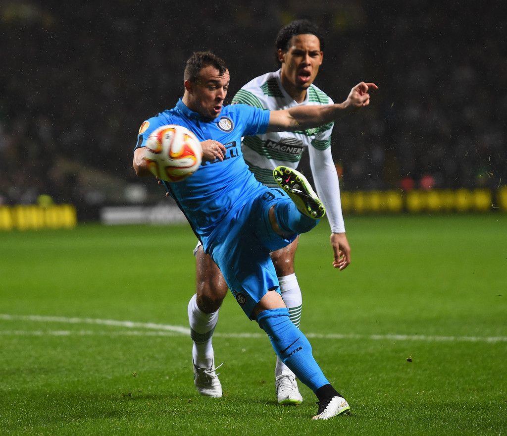 Celtic FC v FC Internazionale Milano #Shaqiri