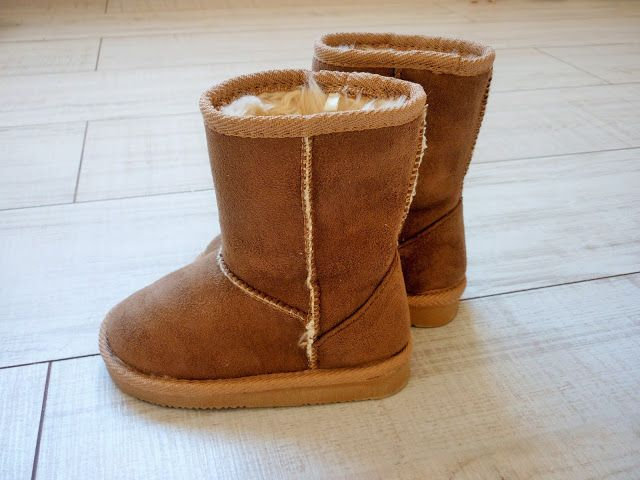 botte imitation ugg enfant
