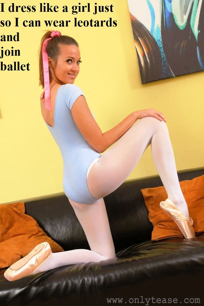 Teens wearing leotards and tights