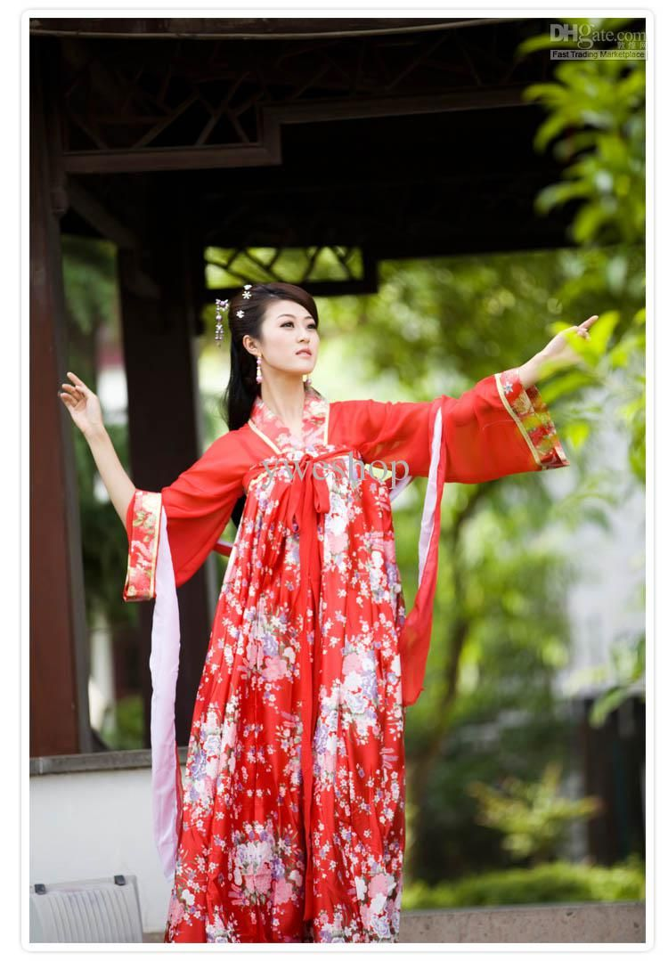 Wholesale Charming China Ethnic cloth Traditional Clothing Women Slip Skirt  chest Chinese Dress up, Free