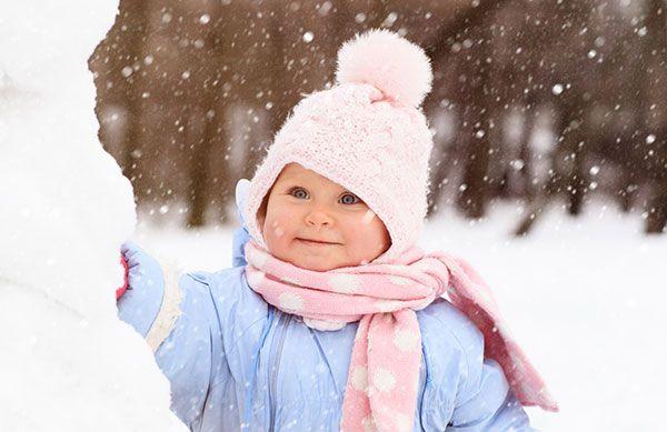 10 richtig gute Tipps für Babys bei Kälte & Frost (© Thinkstock)