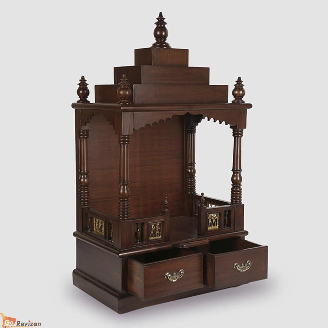 Antique Designed Home Temple | Temple design for home, Home ... on