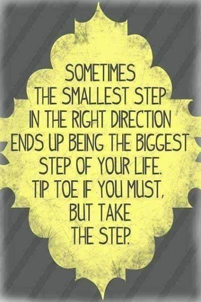 Don't lose sight of the path ahead.