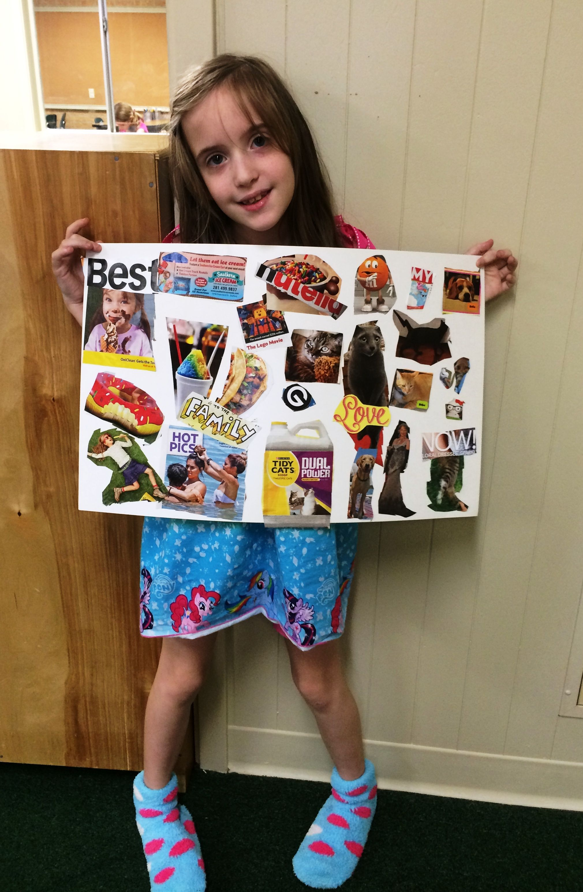 2nd Grade Vision Board