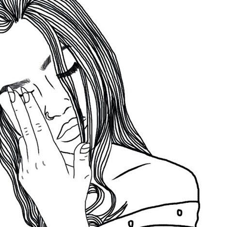 Kartinki Po Zaprosu Emotions Sketch Emotions Tumblr Outline
