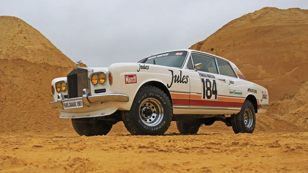 A ParisDakar Rally RollsRoyce Rides Again (With images