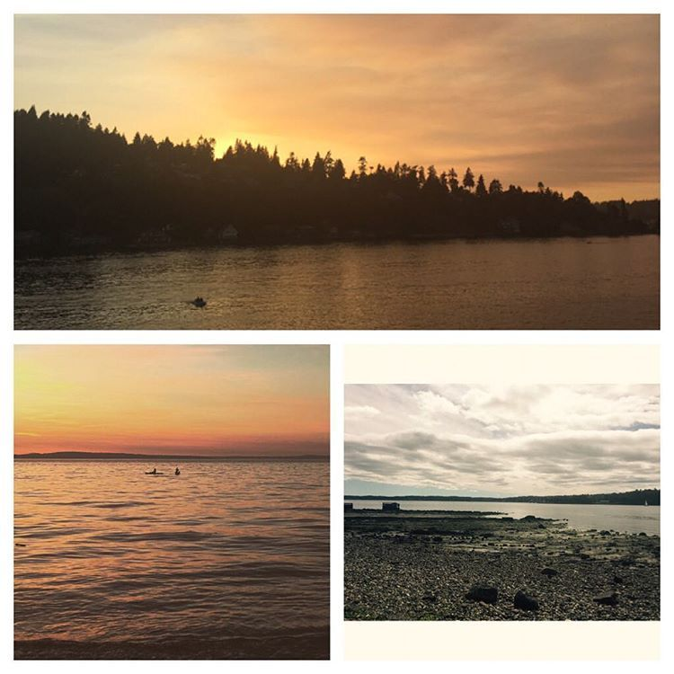 Summer sunsets // @othellofortyeight •