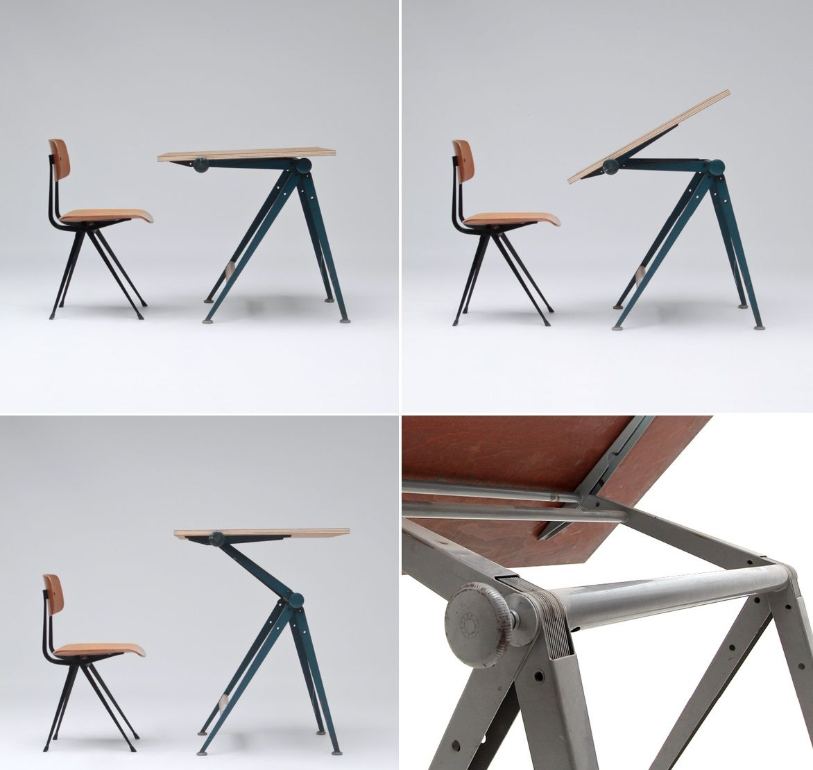 Drafting table dimensions -  Reply Drafting Table Designed By Friso Kramer And Wim Rietveld For The Dutch Manufacturer