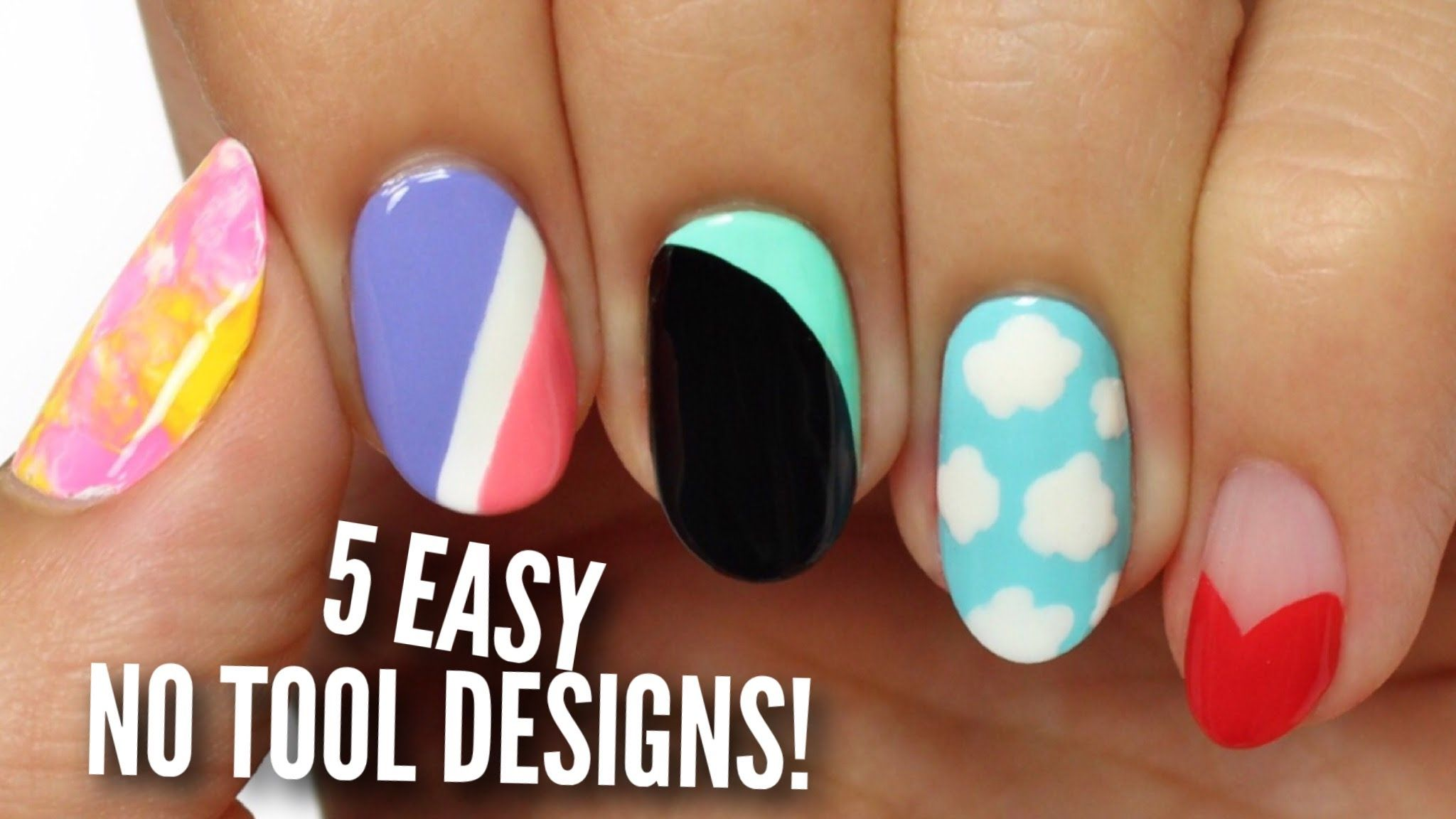Cute Nail Art Designs Without Tools Hession Hairdressing
