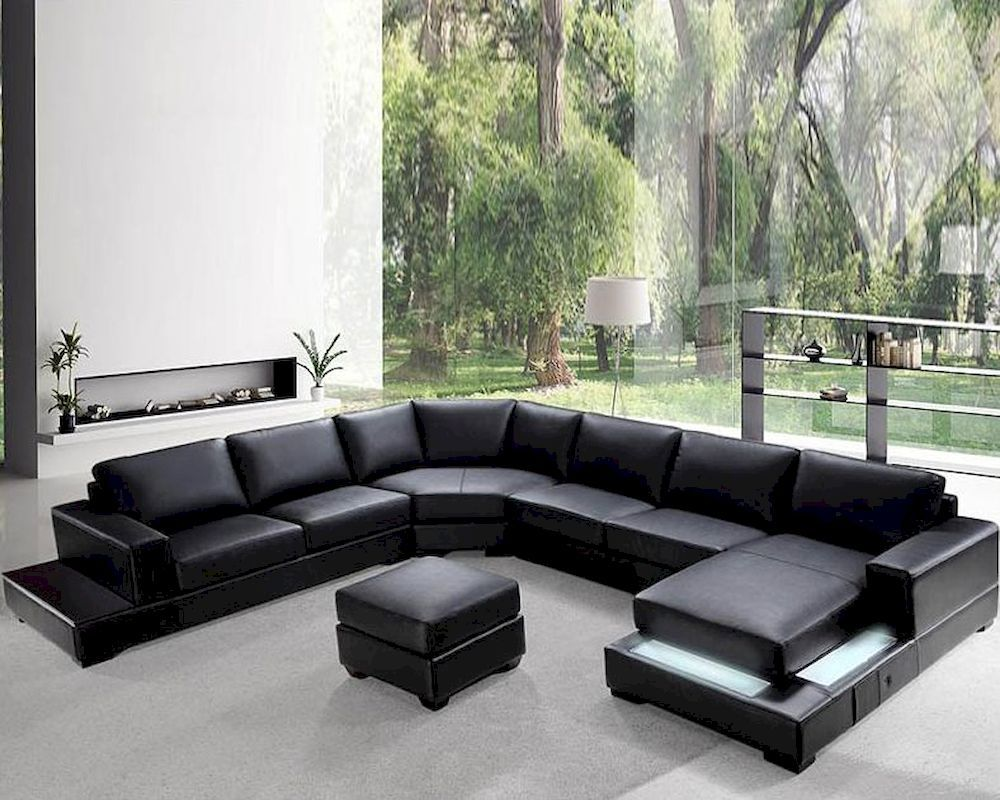 20 Types Of Sofas U0026 Couches Explained (WITH PICTURES) | Leather Sectional  Sofas, Leather Sectional And Living Rooms