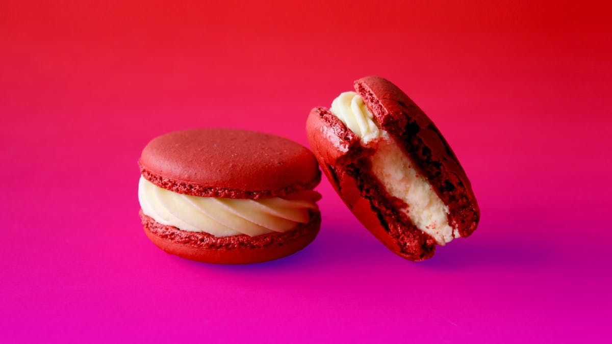 Photo of Red Velvet Macarons
