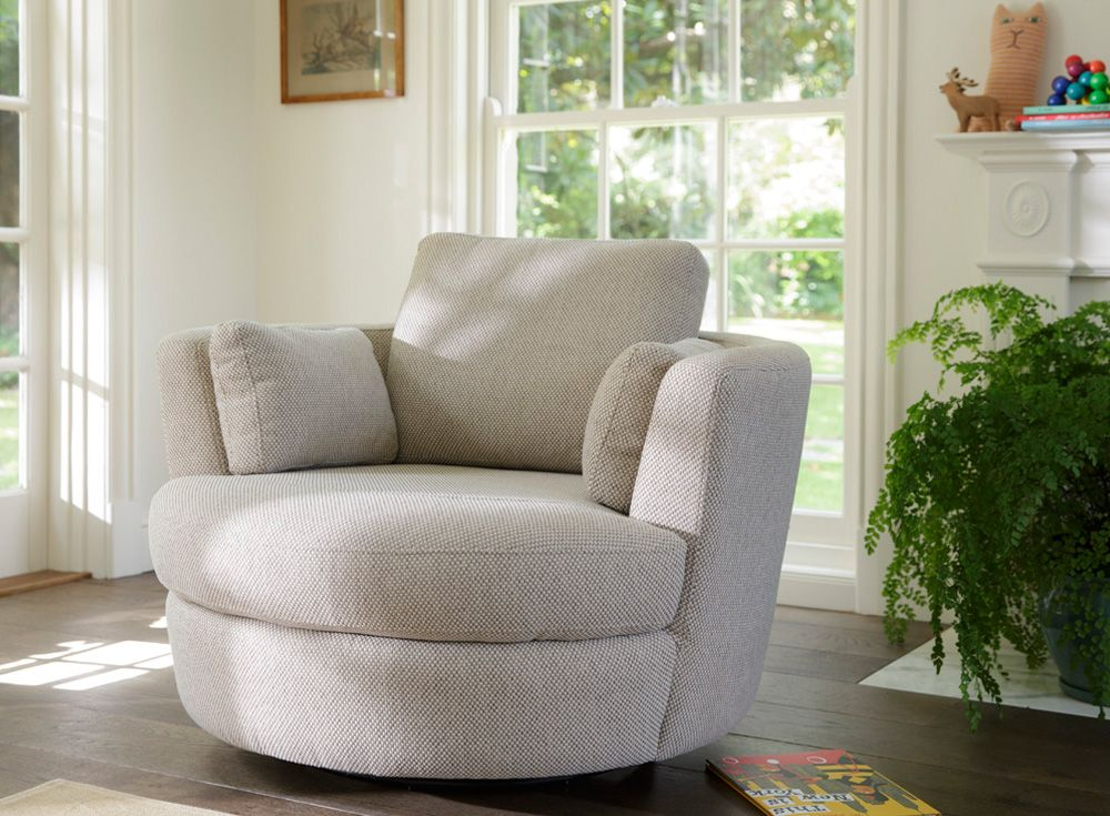 Charmant Love This From Plush....a Snuggle Swivel Chair!
