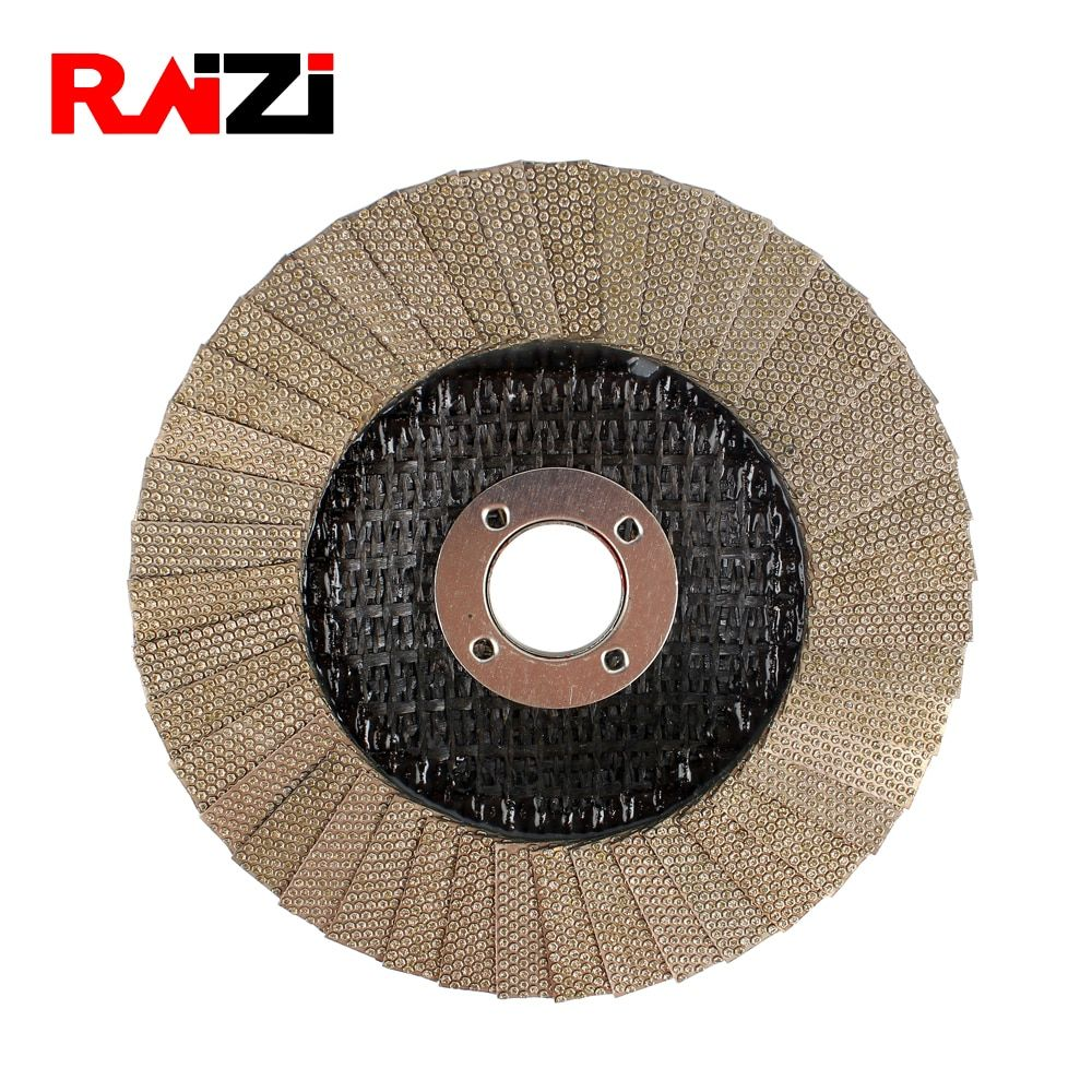 Raizi 4 5 Inch Flap Cup Grinding Wheel Grit 60 Electroplated Diamond Disc For Concrete Stone Raizi Inch Flap Grinding Concrete Stone Concrete Floor Edging