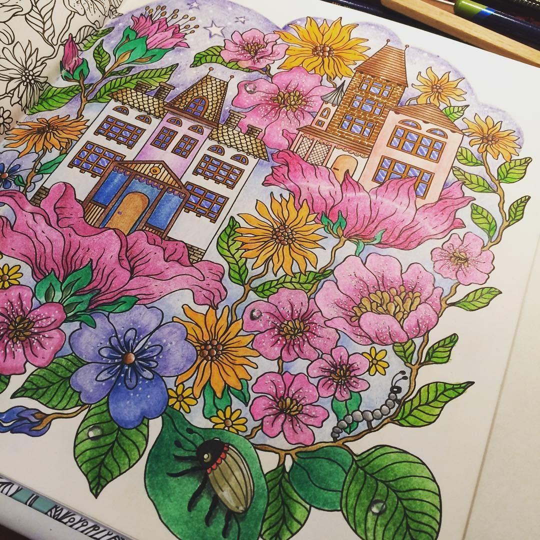 #dagdrömmar #hannakarlzon #boracolorirtop #coloringbook #colorindolivrostop #livrocoloriramo #divasdasartes