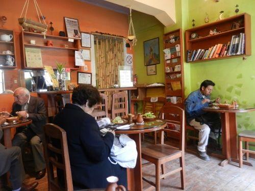 Names Té, restaurant in La Paz