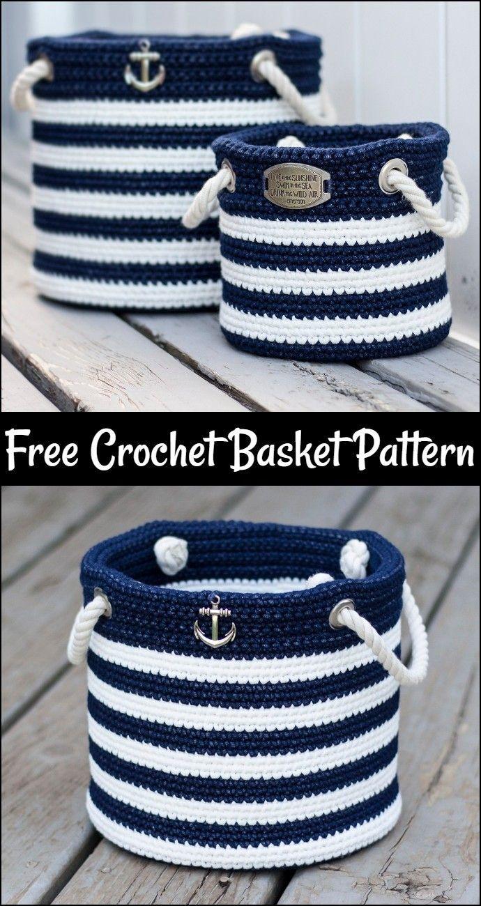 Photo of Crochet Basket Free Pattern – #Crochet Basket #free #pattern
