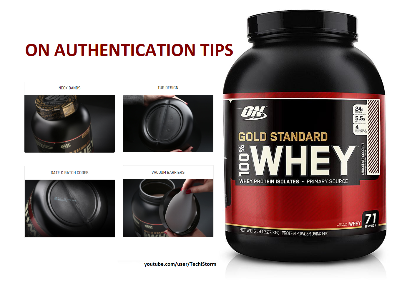 How To Verify Genuine Or Fake Optimum Nutrition 100 Whey Gold Standard Protein Review Https Yo Gold Standard Whey Gold Standard Protein Optimum Nutrition