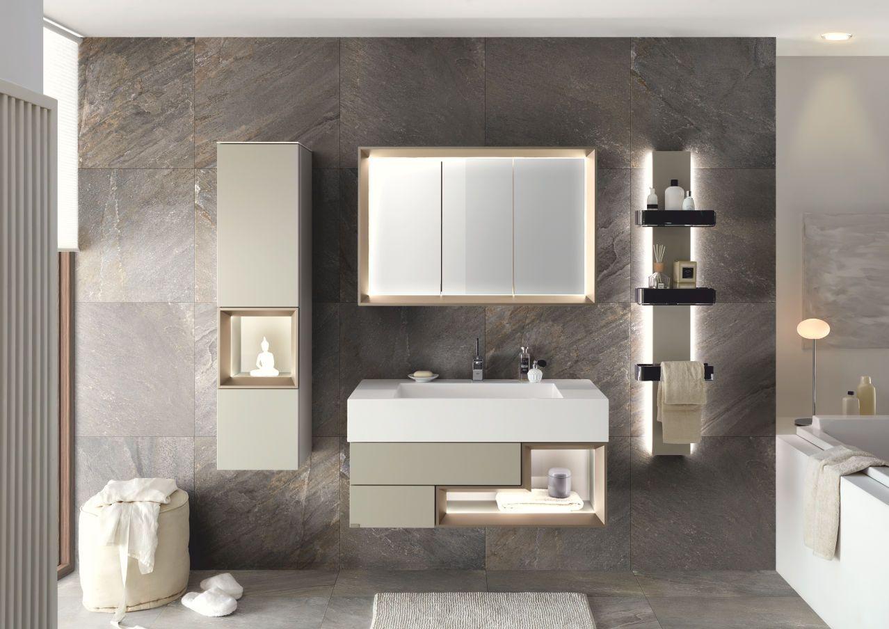 Hulsta Tetrim Bad In 2020 Modernes Badezimmer Badezimmerideen Badezimmerspiegel