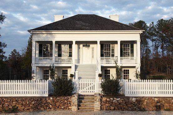 Raised plantation style home | Southern Homes | Plantation ... on texas homes, south bay homes, hollywood homes, deltona homes, beauregard parish historic homes,