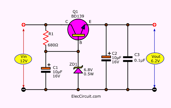 8 How to convert 12V to 6V step down circuit diagram | Circuit Diagram V To V on car circuit diagram, solar circuit diagram, 220v circuit diagram, dc circuit diagram, led circuit diagram, power circuit diagram, ground circuit diagram, usb circuit diagram, inverter circuit diagram, fan circuit diagram, diesel circuit diagram, 120v circuit diagram, 277v circuit diagram, green circuit diagram, 240v circuit diagram, ac circuit diagram, halogen circuit diagram, charger circuit diagram, voltage circuit diagram,