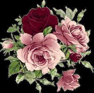 Zoom Diseno Y Fotografia 30 Rosas Vintage Para Scrap Rose Png Flores Arte Con Flores Flores Acuarela