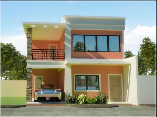 2 Storey House Design And Floor Plan Philippines In 2020 Philippines House Design Modern House Floor Plans 2 Storey House Design