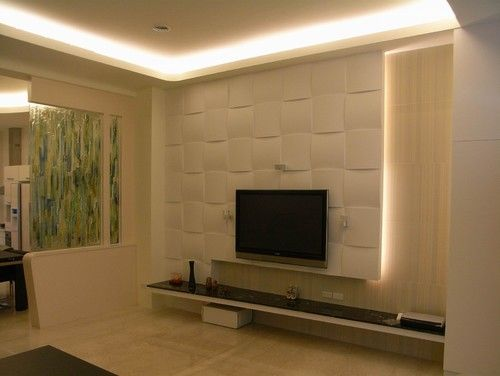 LCD TV Stand Design Wall Ideas1 tv nitesi Pinterest Wall